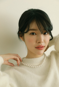 [V,Collect] Cotton Pearl Necklace