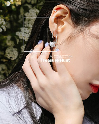 [V,Collect] Mini Ring Earring
